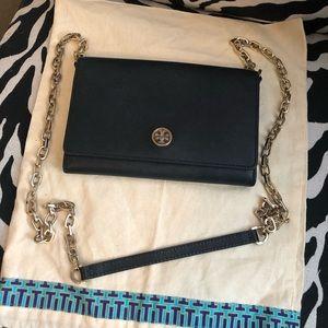 Tory Burch Robinson Chain wallet/crossbody